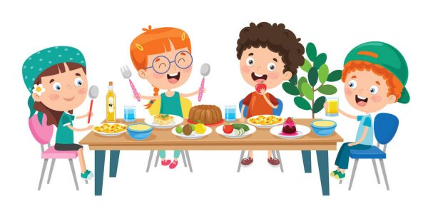 Benefits of eating healthy foods for children